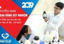 Học phí Cao đẳng Xét nghiệm TPHCM 2019