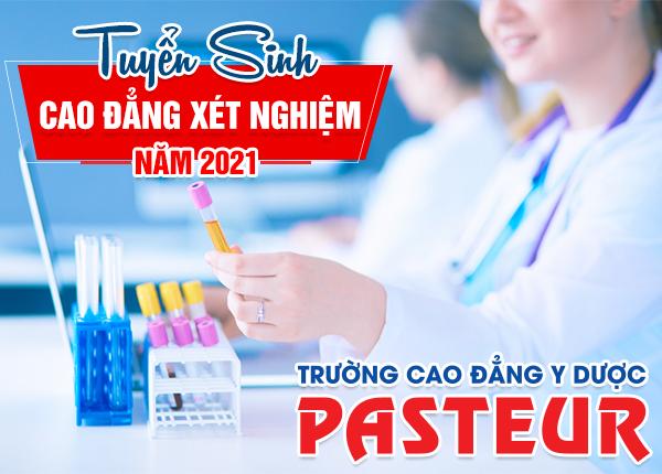 Tuyển sinh Cao đẳng Xét nghiệm tại Hà Nội năm 2021